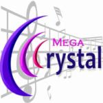Logo da emissora Rádio Mega Crystal FM