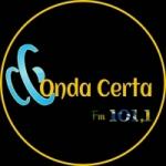 Logo da emissora Onda Certa FM