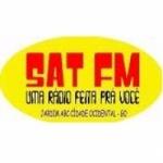 Logo da emissora Rádio Sat 98.1 FM