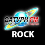 Logo da emissora Radio Saturn Rock