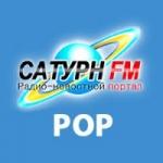 Logo da emissora Radio Saturn Pop