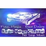 Logo da emissora Rádio Mega Classic