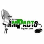 Logo da emissora Rádio Impacto Digital