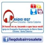 Logo da emissora Rádio IEQ Salete