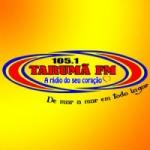 Logo da emissora Rádio Tarumã 105.1 FM