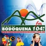 Logo da emissora R�dio Serra da Bodoquena 104.9 FM