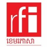 Logo da emissora RFI Cambodgien
