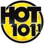 Logo da emissora KRXX Hot 101.1 FM