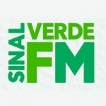 Logo da emissora R�dio Sinal Verde  FM