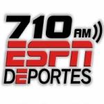 Logo da emissora KBMB 710 AM ESPN