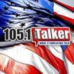 Logo da emissora KBTK 105.1 FM