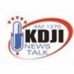 Logo da emissora KDJI AM 1270