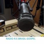 Logo da emissora Rádio R.E. Brasil Gospel