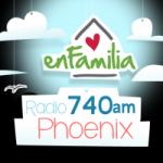 Logo da emissora KIDR 740 AM