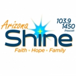 Logo da emissora KNOT 103.9 FM & 1450 AM Arizona Shine