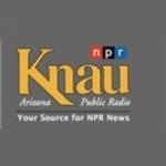 Logo da emissora KPUB 91.7 FM KNAU