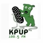 Logo da emissora KPUP-LP 100.5 FM