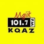 Logo da emissora KQAZ 101.7 FM