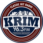 Logo da emissora KRIM 96.3 FM