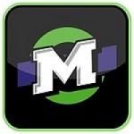 Logo da emissora Radio La Mega 104.3 FM