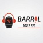 Logo da emissora Rádio Barril 105.7 FM