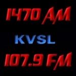 Logo da emissora Radio KVSL 1470 AM 107.9 FM