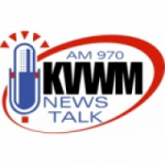 Logo da emissora Radio KVWM 970 AM