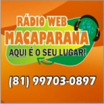 Logo da emissora Rádio Web Macaparana