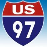 Logo da emissora Radio KQUS 97.5 FM