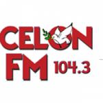 Logo da emissora Rádio Celon 104.3 FM