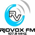 Logo da emissora Rádio Rio Vox 107.9 FM