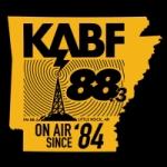 Logo da emissora Radio KABF 88.3 FM