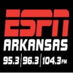 Logo da emissora Radio KBCN 104.3 FM