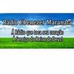 Logo da emissora Rádio Ebenezer Maranata