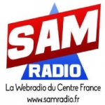 Logo da emissora Sam Radio Officiel
