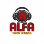 Logo da emissora Alfa Web Rádio