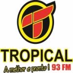 Logo da emissora Rádio Tropical 93.1 FM