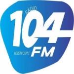 Logo da emissora Rádio 104 FM