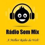 Logo da emissora Rádio Som Mix