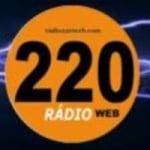 Logo da emissora Rádio 220 Web