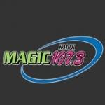 Logo da emissora KMJK 107.3 FM