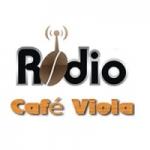 Logo da emissora Rádio Café Viola