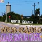 Logo da emissora Web R�dio Cidade Simpatia Gospel
