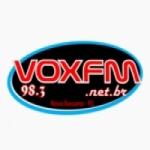 Logo da emissora Rádio Vox 98.3 FM