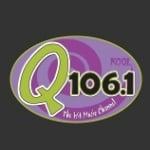 Logo da emissora KOQL 106.1 FM