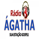 Logo da emissora Rádio Ágatha
