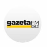 Logo da emissora Rádio Gazeta 106.3 FM