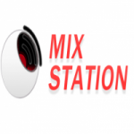 Logo da emissora Rádio Mix Station