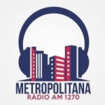 Logo da emissora Rádio Metropolitana do Vale 1270 AM