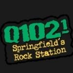 Logo da emissora KQRA 102.1 FM